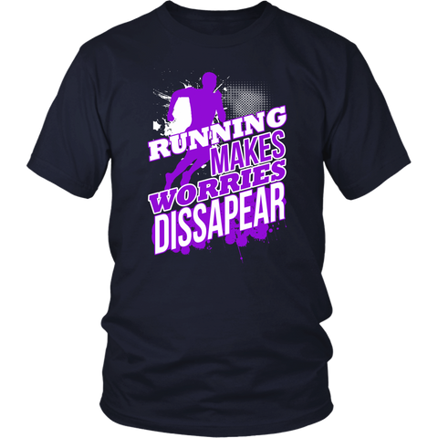 Image of Running Makes Worries Dissapear