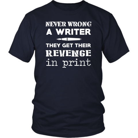 Image of Never Wrong A Writer They Get Their Revenge In Print