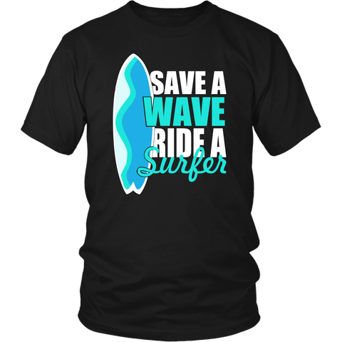 Image of Save A Wave Ride A Surfer