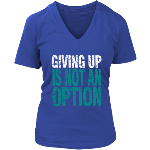 Image of Giving Up Is Not An Option