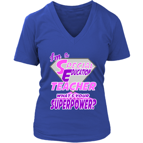 Image of I Am A Special Education Teacher What's Your Superpower?