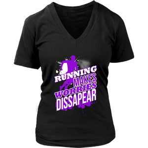 Running Makes Worries Dissapear