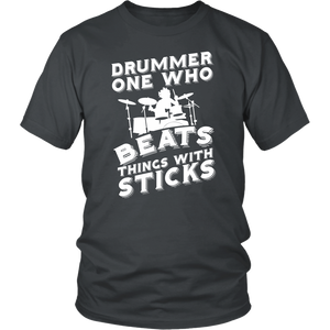 Drummer One Who Beats Things With Sticks
