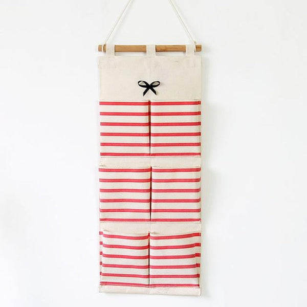 Linen Multi-layer Hanging Storage-Prestigehomecollections