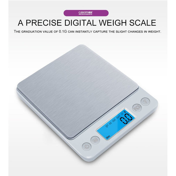 Mini pocket portable stainless steel weight scale-Prestigehomecollections