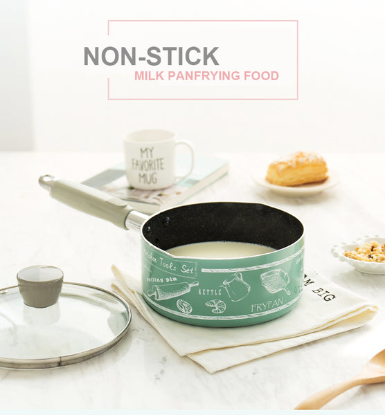 16 CM Creative Design Non-Stick Milk Pan