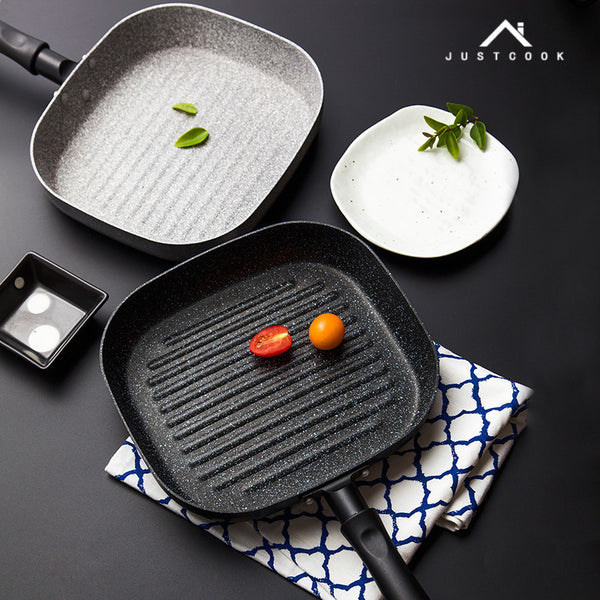 22x24 CM No Oil-smoke Pan Steak Frying Pan