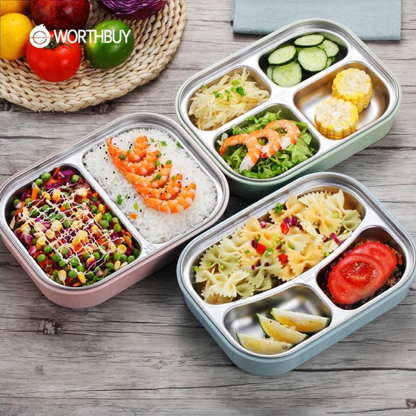 Stainless Steel Japanese Lunch Box-Prestigehomecollections