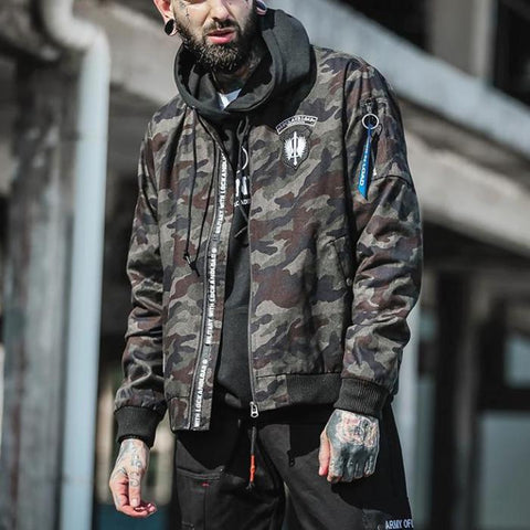 Locked & Loaded Camo Jacket