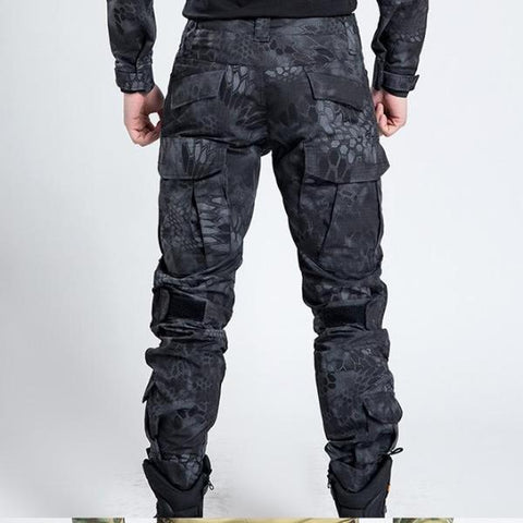 Black Hunting Pants
