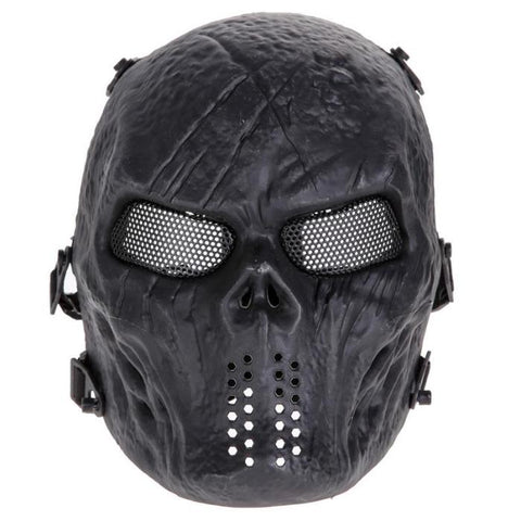 Black Paintball Mask