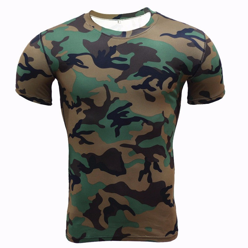 Slim Fit Camo T-Shirt