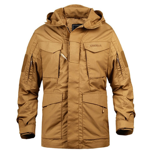 Military Windbreaker Jacket