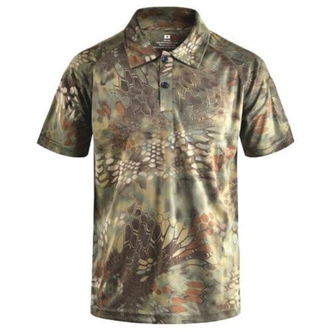Unique Camouflage T-Shirt