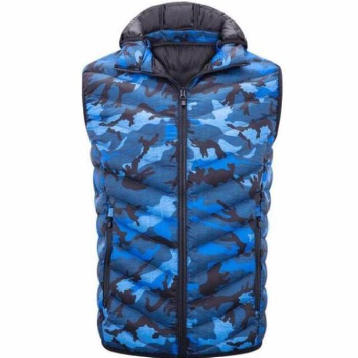 Padded Camouflage Vest