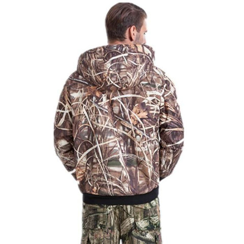 Brown Forest Pattern Hunting Jacket