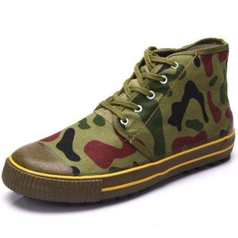 Camouflage Canvas Shoes
