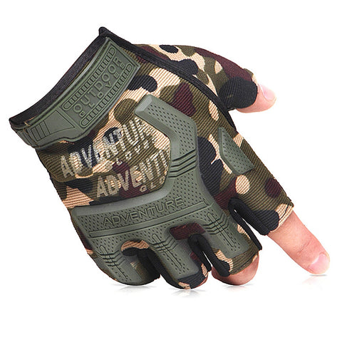 Half Finger Impact Protection Gloves