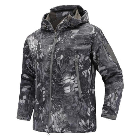 Camouflage Winter Jacket