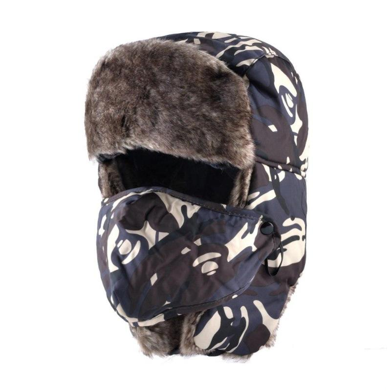 Camouflage Winter Flapped Hat