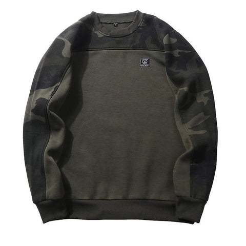 Basic Military Sweatshirt