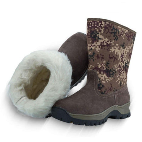 Wool Snow Boots