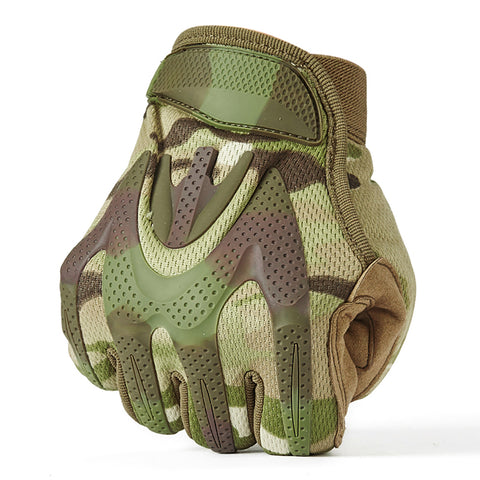 Woodland Camo Gloves