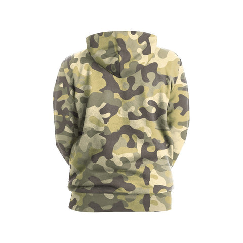 Green Camouflage Hoodie