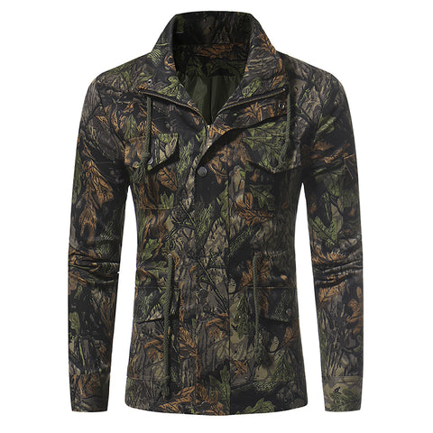 Forest Camo Multi-Pocket Jacket