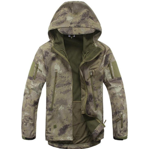 Digital Camo Winter Coat