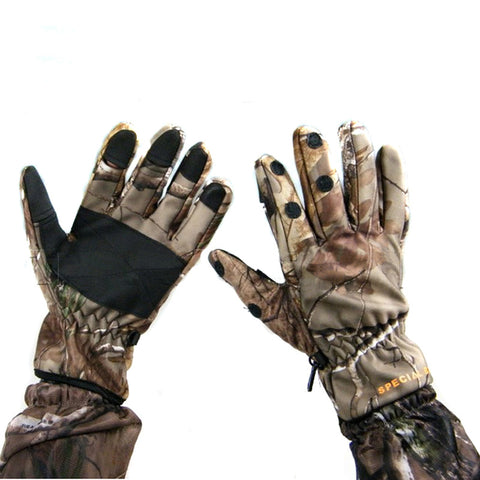 Warm Camouflage Gloves