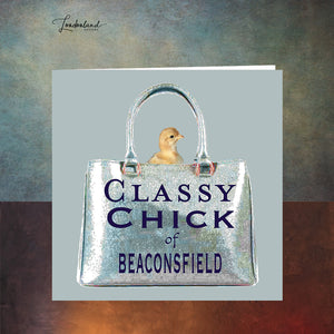 Beaconsfield Chick Greeting Card