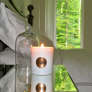 Candle Snob bedroom by Londonland Designs