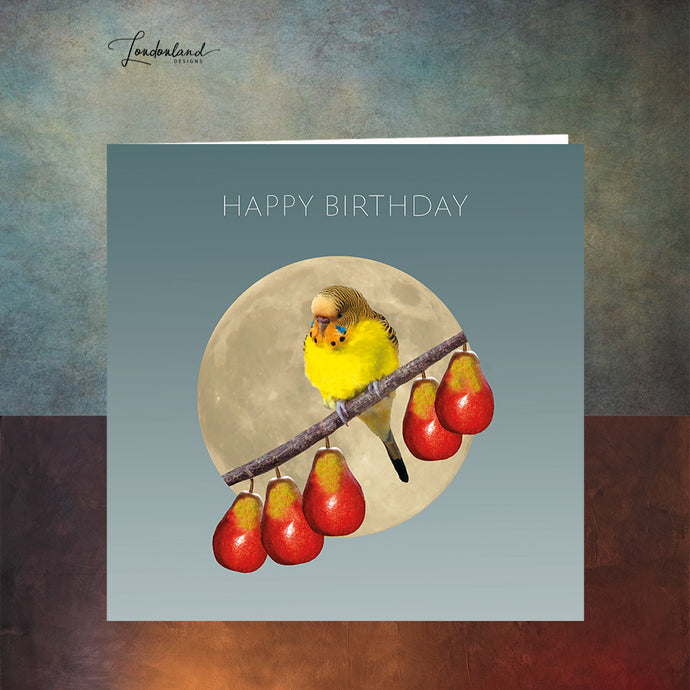 Five a Day Birthday Card