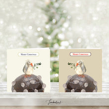 Goose Pudding Christmas Cards with coins GP01 & GP02