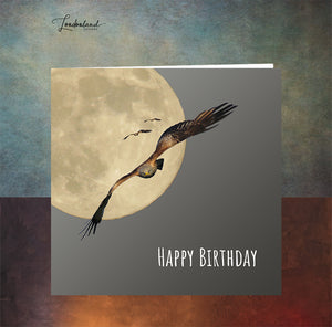 Into The Night Birthday Card