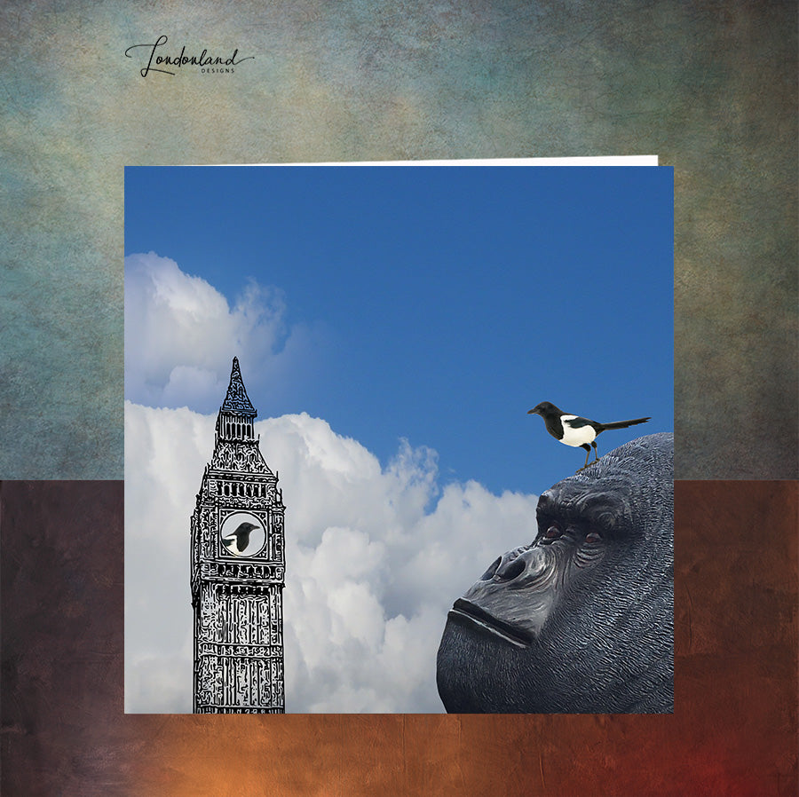 Kong Of London Greeting Card