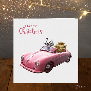 Mince Pie Delivery Christmas Card