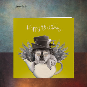 Mad Tea Party Birthday Card