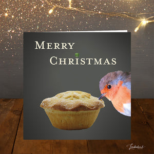 The Prince of Mince Christmas Card