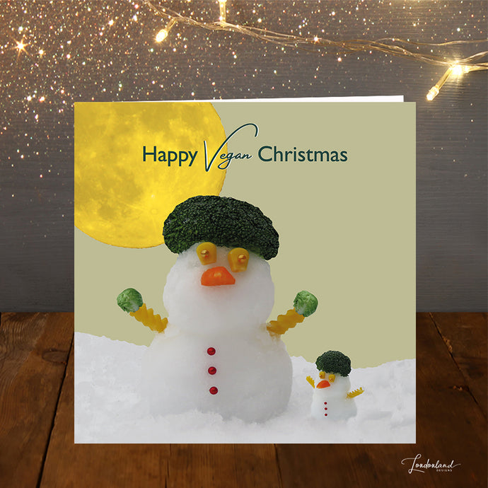Vegan Christmas Card