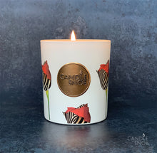 Candle Snob Zebra Roses Scented Candle