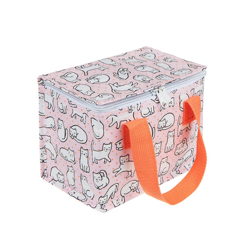 Sass & Belle Cutie Cat Insulated Lunch Bag