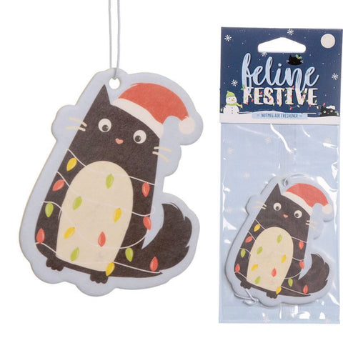 Feline Festive Christmas Cookie Air Freshener