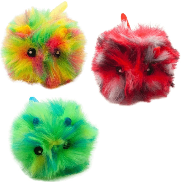 Cat Circus Fluffy Fluffs Jittery Cat Toy - 3 Colours