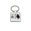 Alex Clark Square Keyring - Good, Bad & Incredibly Furry