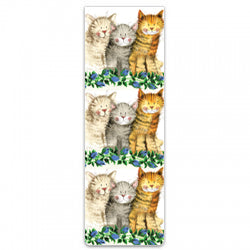 Alex Clark Magnetic Bookmark - Three Amigos