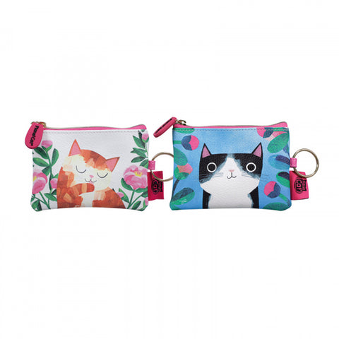 Planet Cat Coin Purse - 2 Designs