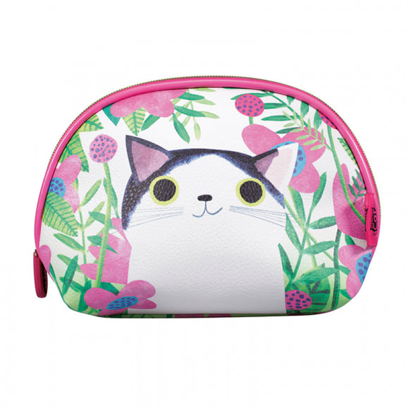 Planet Cat Cosmetic / Toiletries Bag - Simple Life