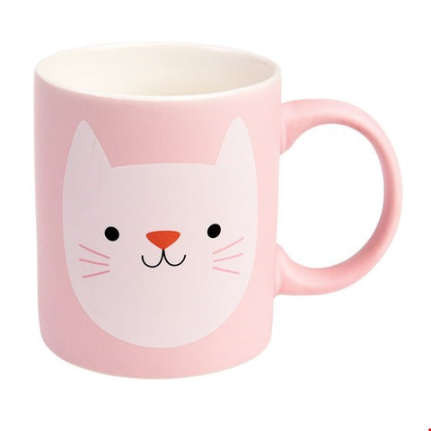 Cookie the Cat - Matte Ceramic Cat Mug